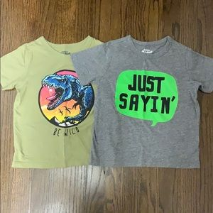 Two OshKosh T-shirts